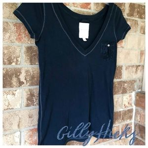 $5 or 3 for $12 | Lace pocket |GH| Tee